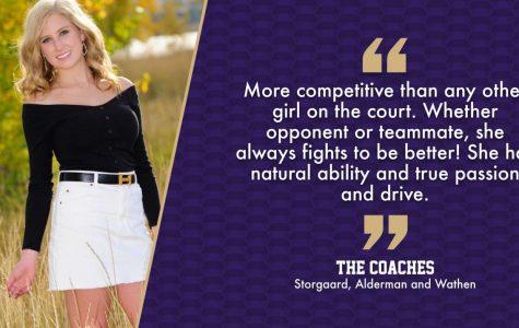 Senior Spotlight: Girls tennis player Ava Johnson