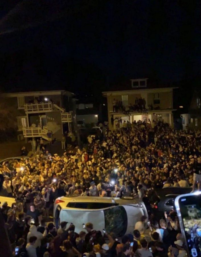 The Hill Party Scene Turned Violent
