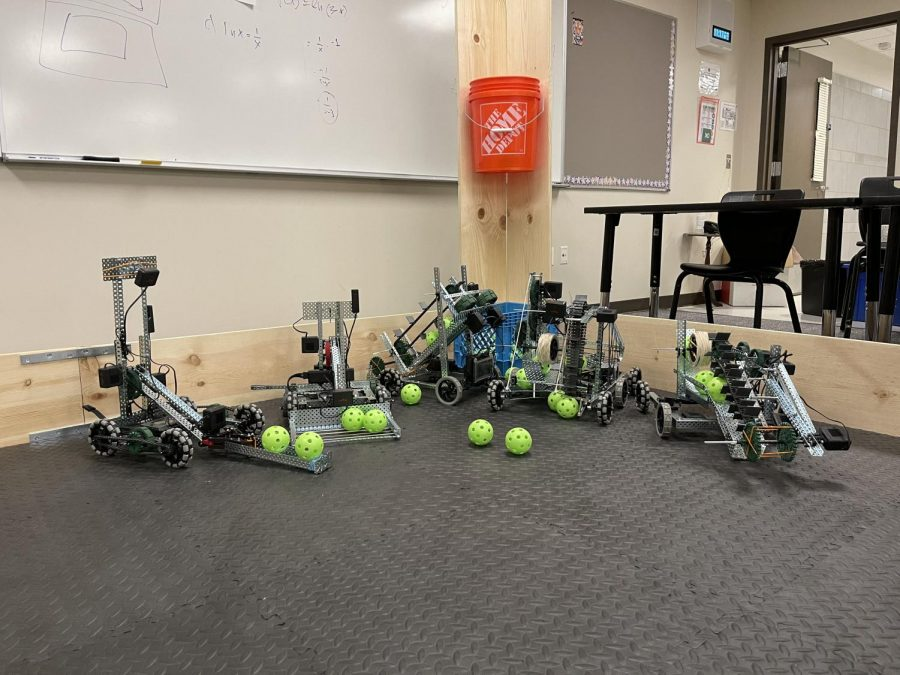 Holy Family's First Robotics Competition