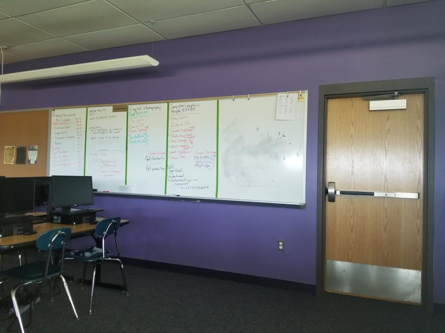 The Painting is on the Wall: School Improvements