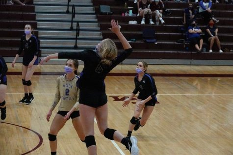 Volleyball: Anna Hodell Makes a Comeback