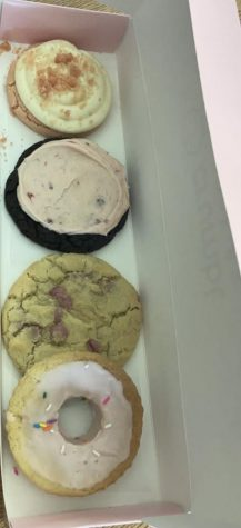 Pink Cookies In the Pink Box