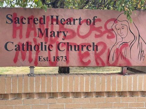 Catholic Churches Targeted